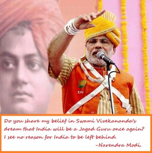 Swami Vivekanand Modi